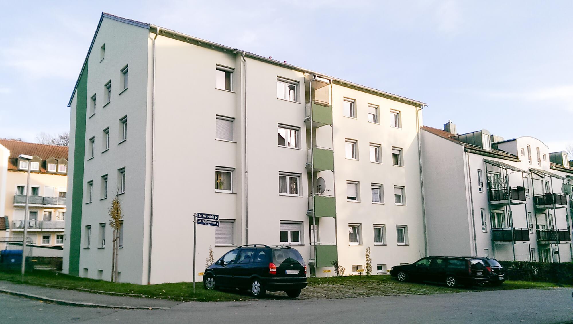 Umbau und energetische Sanierung eines Wohngebäudes