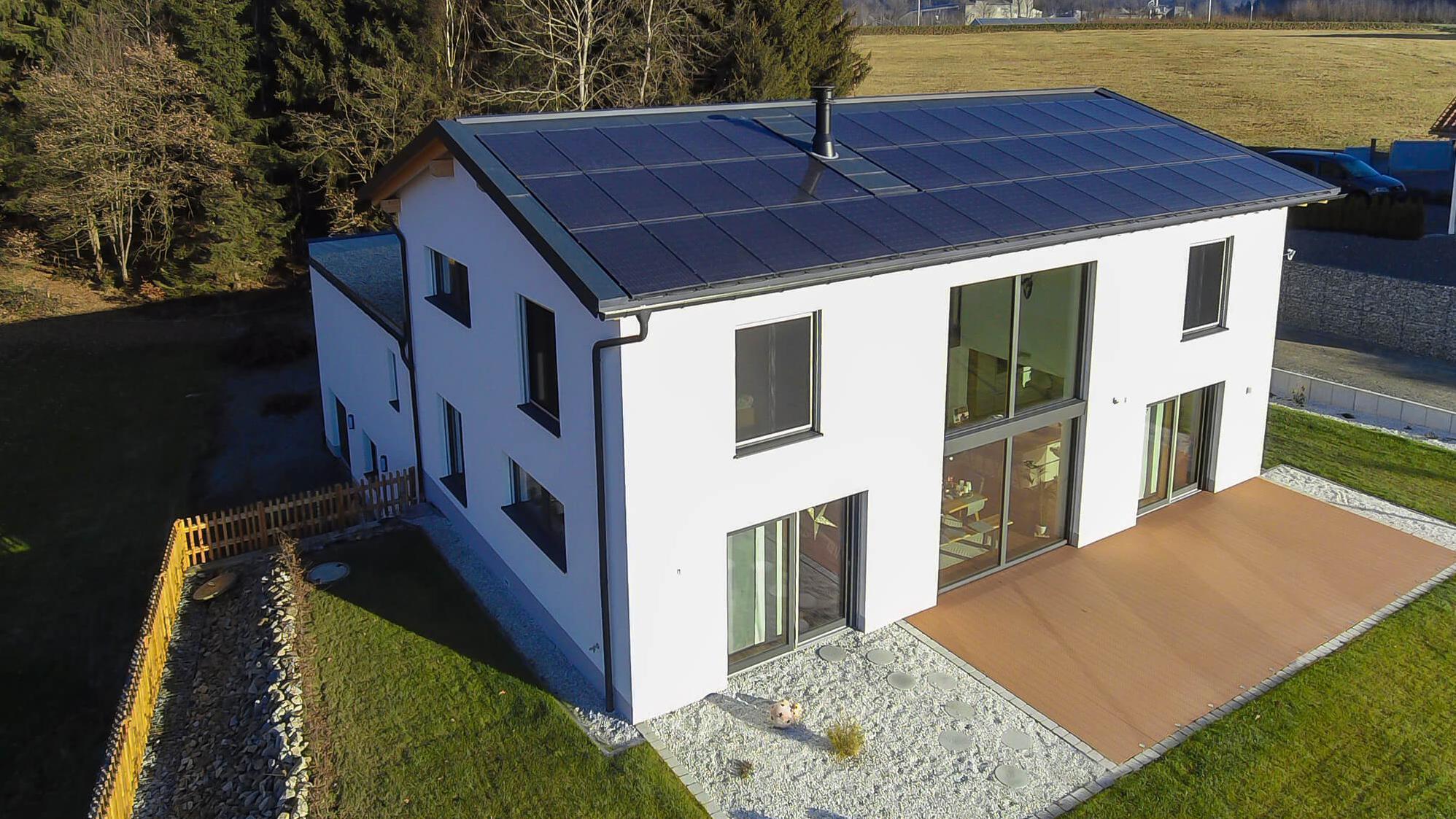 Neubau eines Einfamilienhauses in Eging