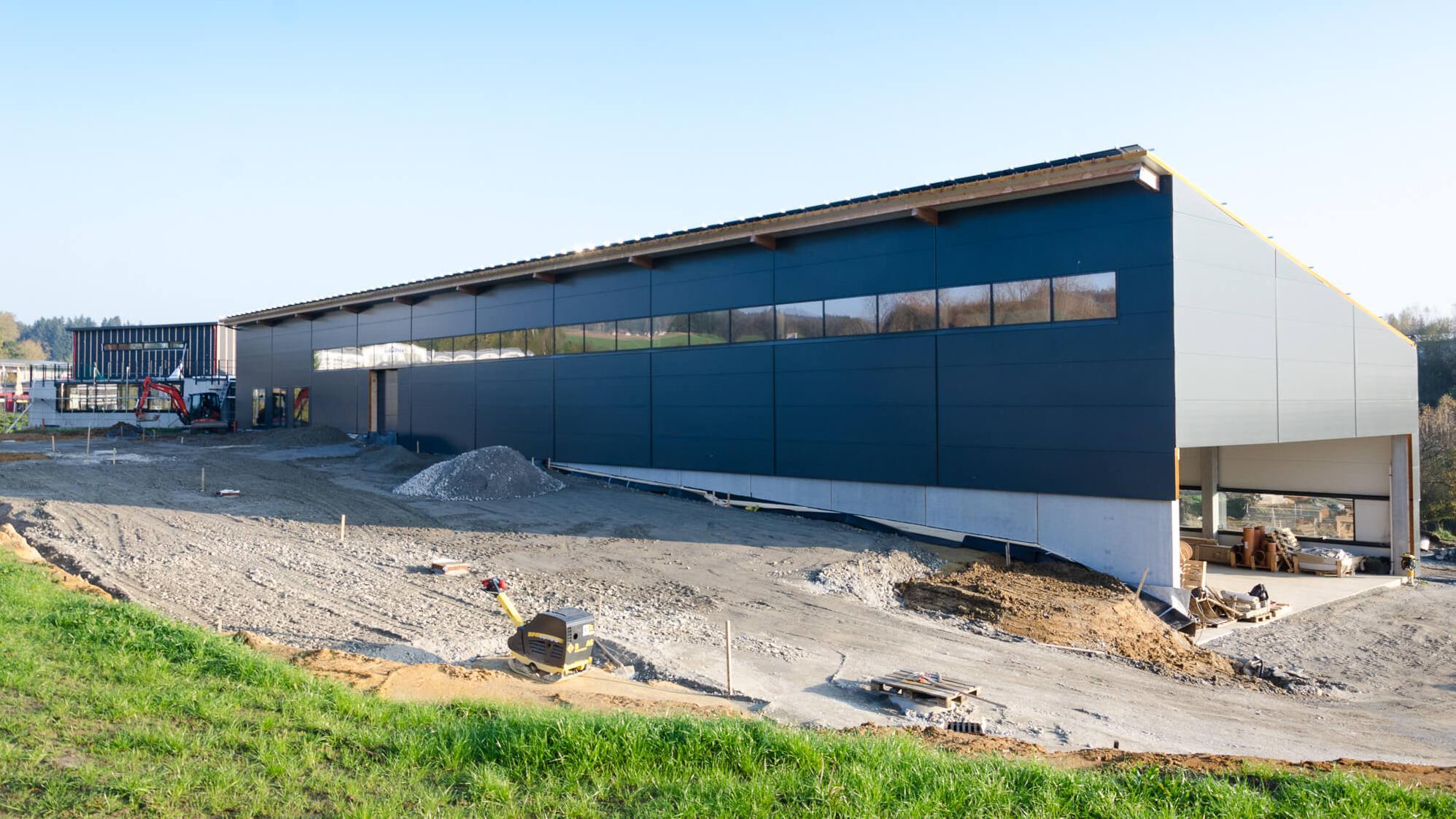 Neubau eines Bürogebäudes für Soppart