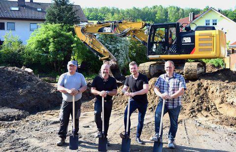 Bau einer neuen Wohnanlage in Deggendorf