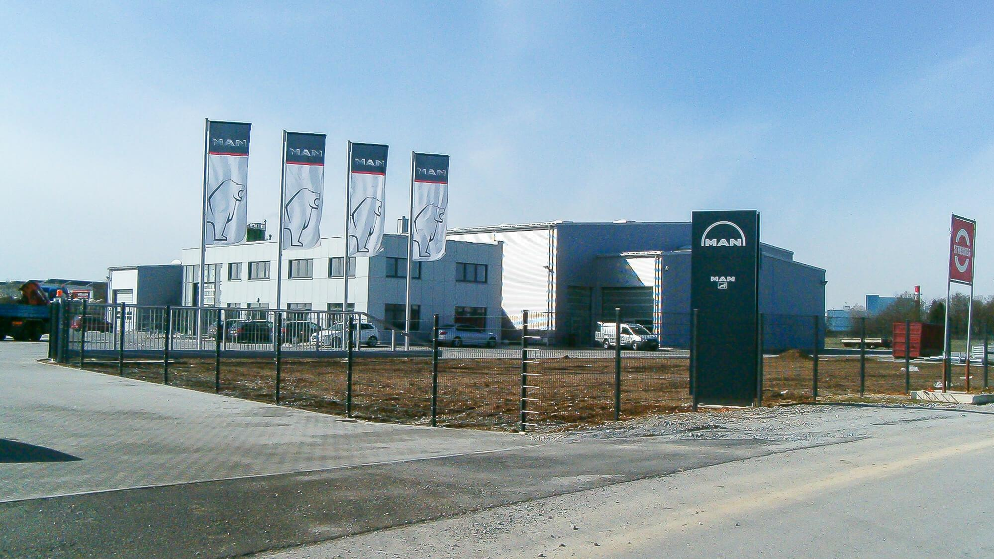 Neubau Truck- und Buscenter